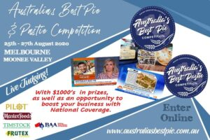 Australia's Best Pie And Pastie Competition 2020