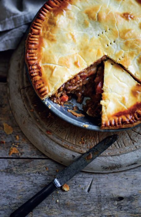 Steak and Guiness Pie - Baking Business