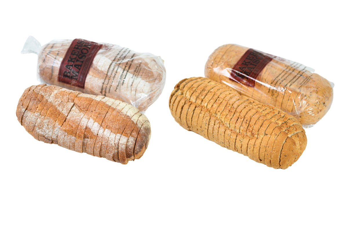New rustic loaves ready for sale