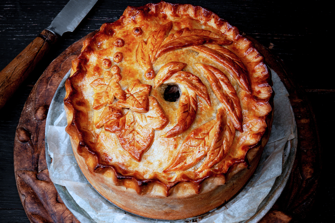 Sweet lamb pie