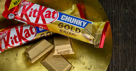 KitKat's Chunky and Gold come together